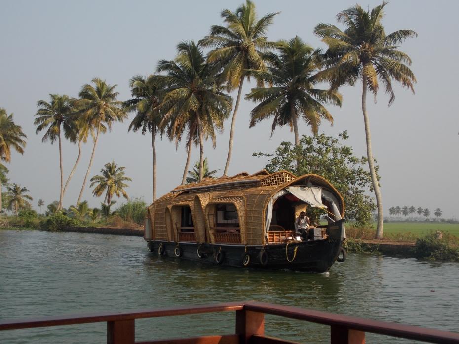 Houseboat on Lake Vembanadu