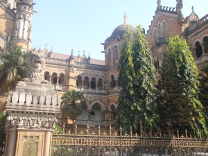 Victoria Terminus, the largest train station in India