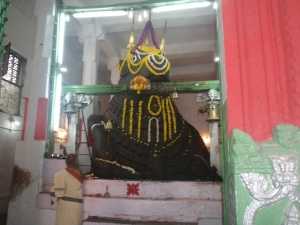 Inside the Big Bull Temple