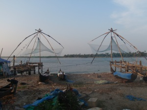 The Chinese fishing nets of Kochi