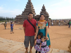 Ramu and his family.