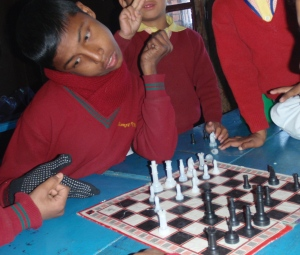 Harish also plays a mean game of chess