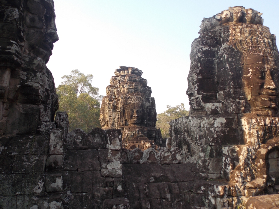 The many faces of Angkor Thom