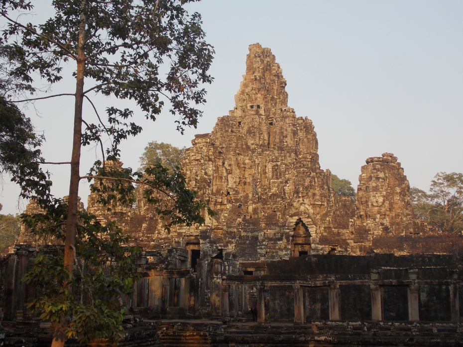 Nice afternoon light on Angkor Thom