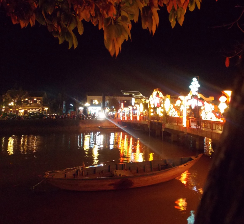 Hoi An night scene.