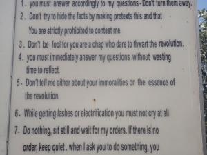 Interesting Prison Rules