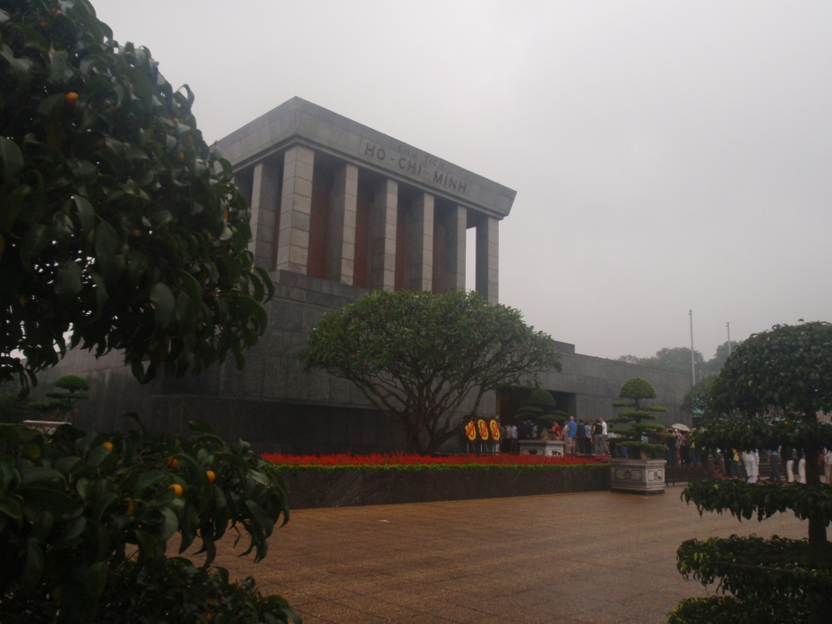 The Ho Chi Minh mauseleum