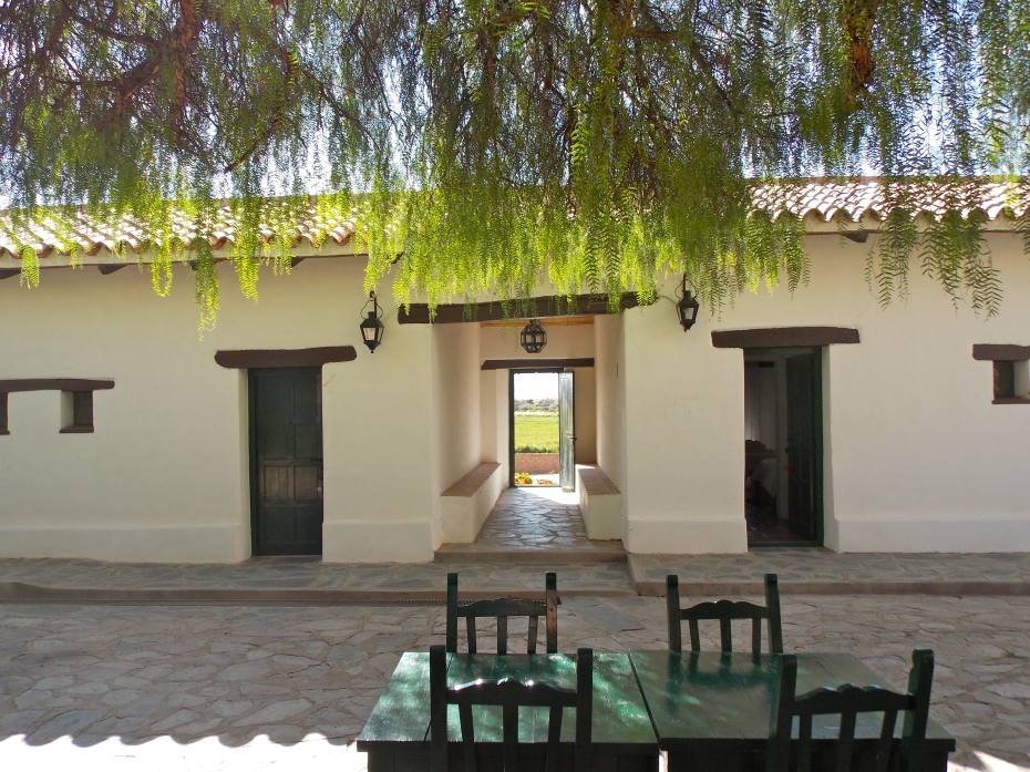Courtyard of the former governor's house.