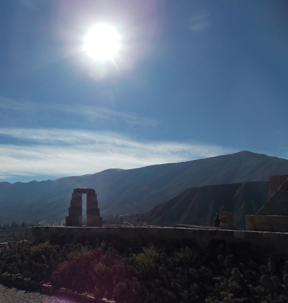 The ruins of the Incan fortress at Til