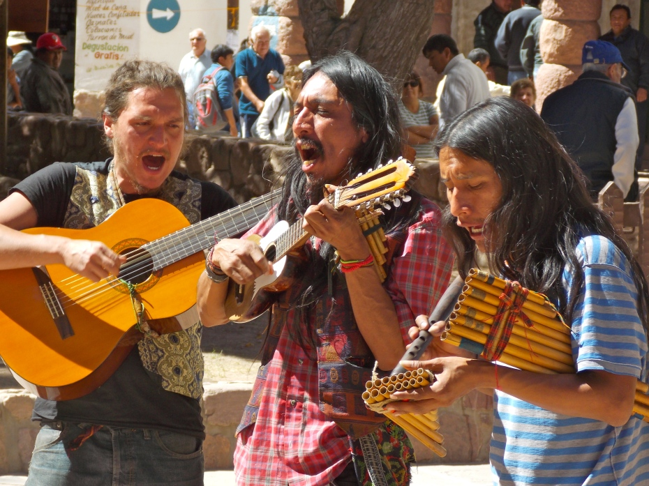 I loved the passion these guys brought to their Andean songs.