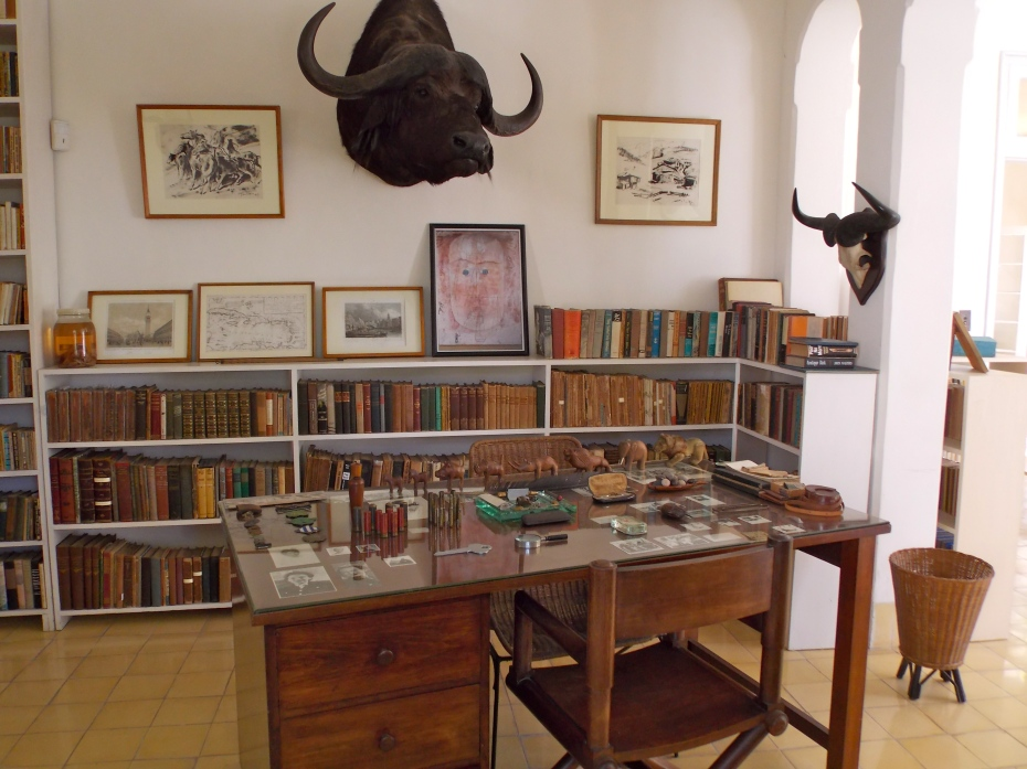 A room i Hemingway's house.