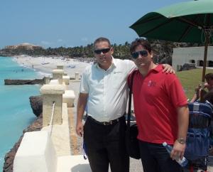 Deivy Hernandez and Frank Alpizar