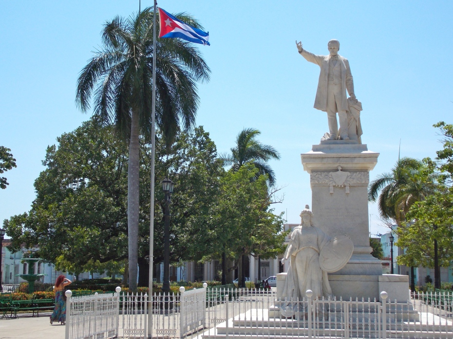 From one end of Cuba to the other you find statues of Jose Marti, the father of the fight for independence.
