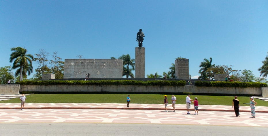 The Plaza honored Che Guevara in Santa Clara.