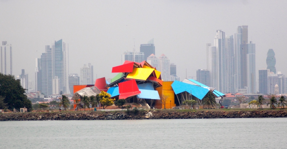 An interesting museum and the Panama City skyline, as seen from the Canal.
